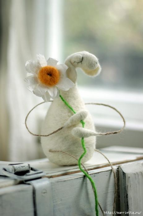 Романтичная овца и другие игрушки в технике валяние (11) (462x700, 160Kb)