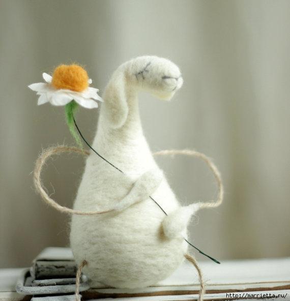 Романтичная овца и другие игрушки в технике валяние (13) (570x592, 111Kb)