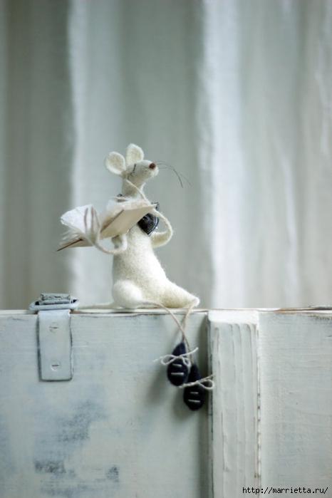 Романтичная овца и другие игрушки в технике валяние (23) (466x700, 155Kb)