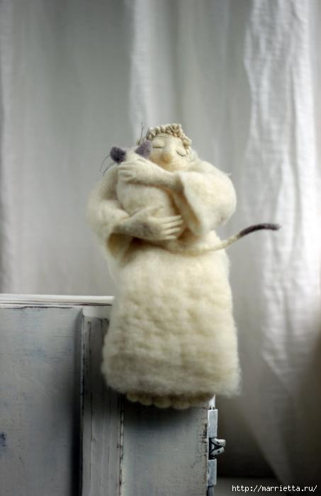 Романтичная овца и другие игрушки в технике валяние (30) (453x700, 156Kb)