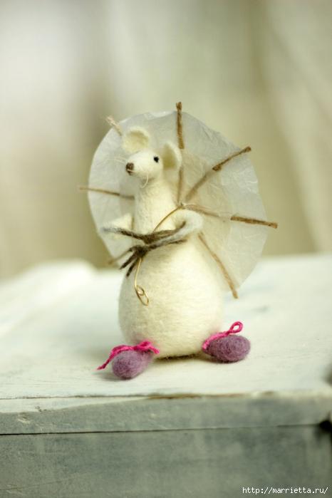 Романтичная овца и другие игрушки в технике валяние (51) (466x700, 178Kb)