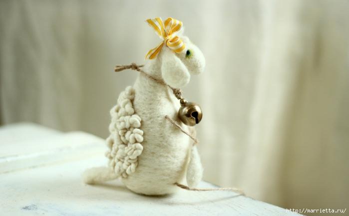 Романтичная овца и другие игрушки в технике валяние (55) (700x432, 156Kb)