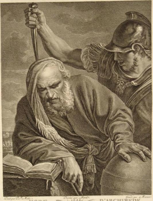 Картинки по запросу смерть архимеда картинки
