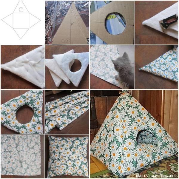 diy-cozy-cat-tent (600x600, 235Kb)