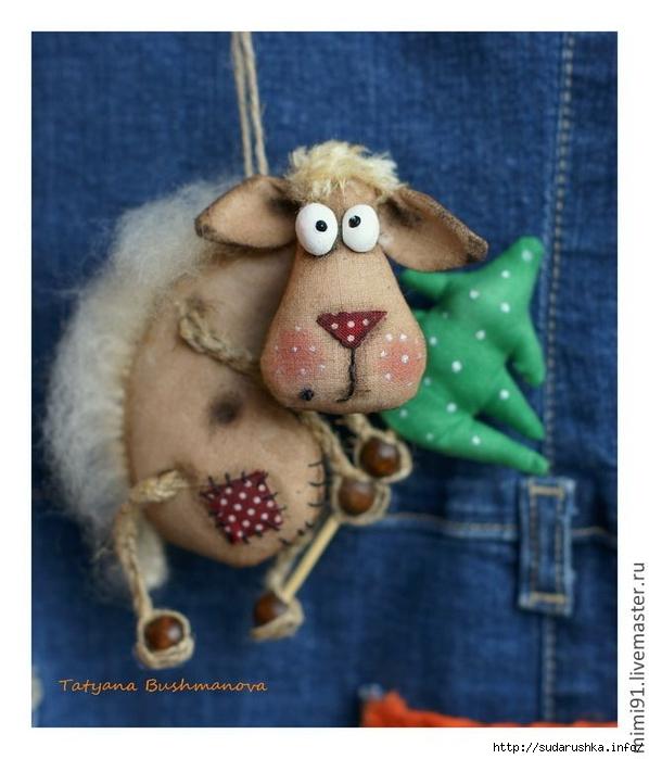Новогодние поделки коза своими руками на 2015 год - TA-ivanovo.Ru
