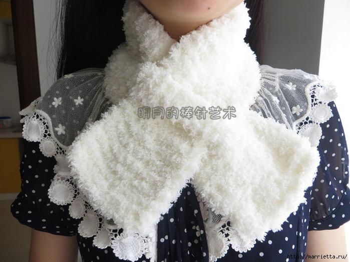 детский шарф спицами с игрушкой (7) (700x524, 258Kb)