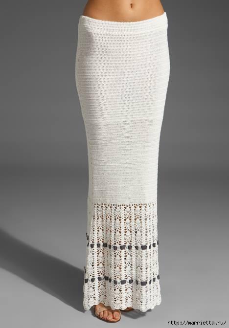 длинная вязаная юбка (2) (468x671, 87Kb)