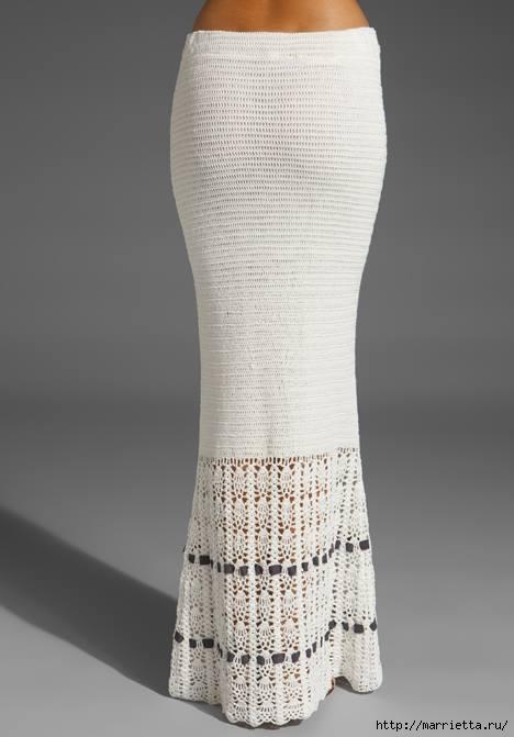 длинная вязаная юбка (4) (468x671, 88Kb)