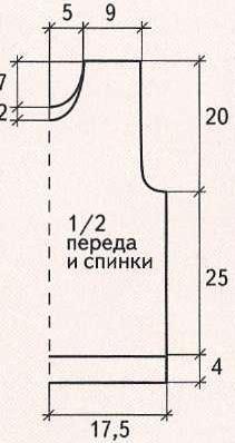 Krasnaya-bezrukavka-i-sharf-vyazannye-spicami-dlya-malchika.Vykrojka-bezpukavkiJPG (211x398, 50Kb)
