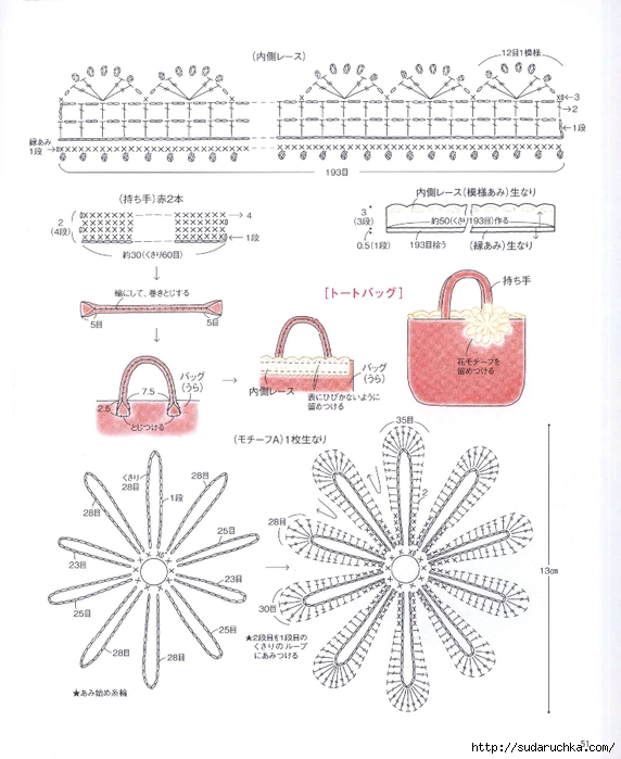 日文钩编杂志(55) - 荷塘秀色 - 茶之韵