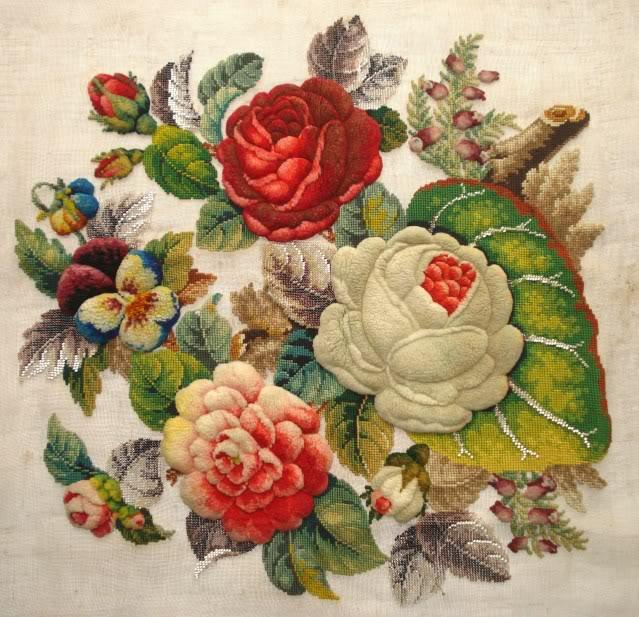 Викторианская вышивка что это