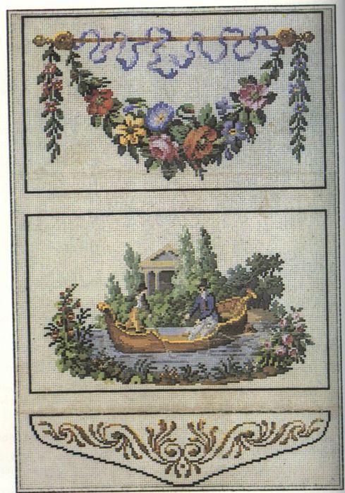 схем «берлинской вышивки»