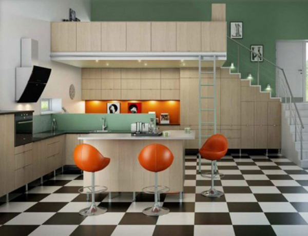 black-white-checkerboard-floors-tiles-in-kitchen11-6 (600x460, 161Kb)