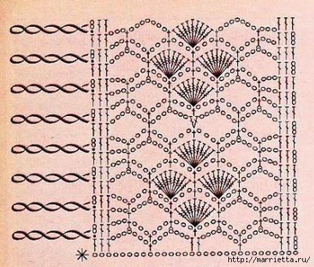 La hermosa colcha de ganchillo (1) (458x389, 182KB)