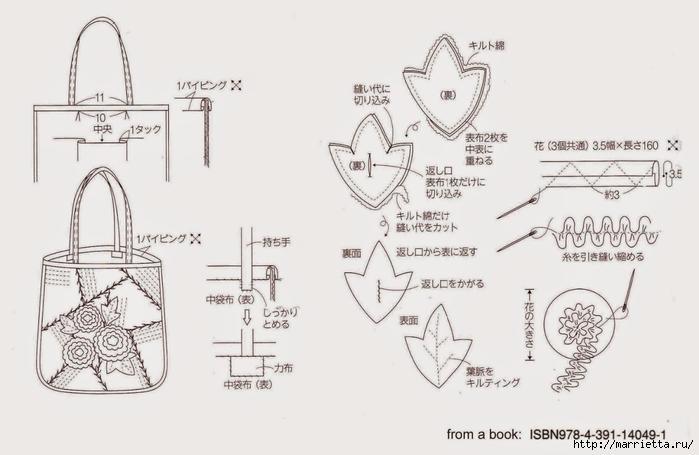 Шьем осеннюю сумку в технике пэчворк (8) (700x455, 144Kb)