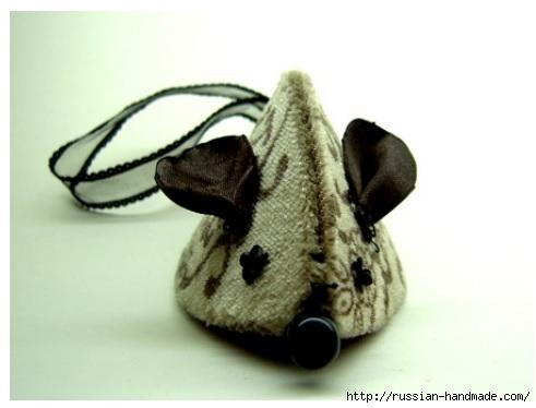 Мышки из картона. Самый легкий способ создания игрушки-подвески (12) (491x374, 73Kb)