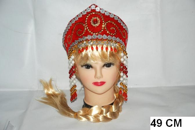 Русские кокошники своими руками