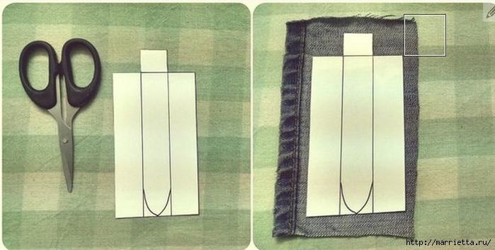Ремешок для наручных часов из старых джинсов. Мастер-класс (2) (700x353, 175Kb)