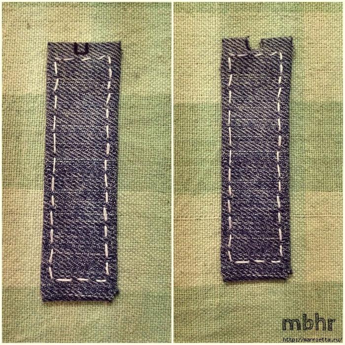 Ремешок для наручных часов из старых джинсов. Мастер-класс (10) (700x700, 550Kb)