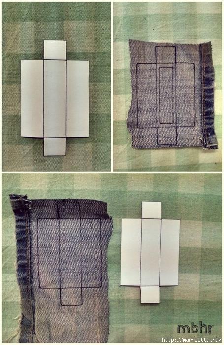 Ремешок для наручных часов из старых джинсов. Мастер-класс (11) (455x700, 292Kb)