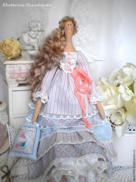 Тильда платье с оборками