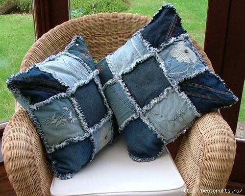 Разные переделки из джинсов (18) (500x400, 191Kb)