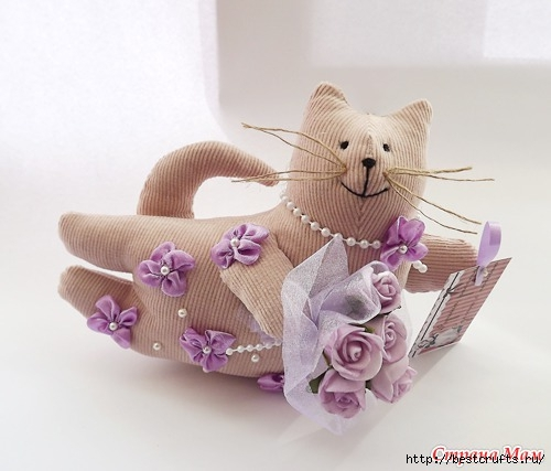 Шьем очаровательных кошек по выкройке (3) (500x427, 106Kb)