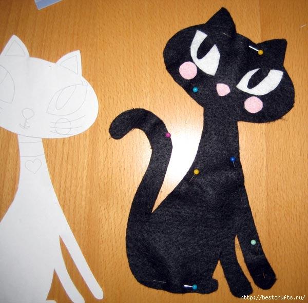 Шьем очаровательных кошек по выкройке (13) (600x591, 173Kb)