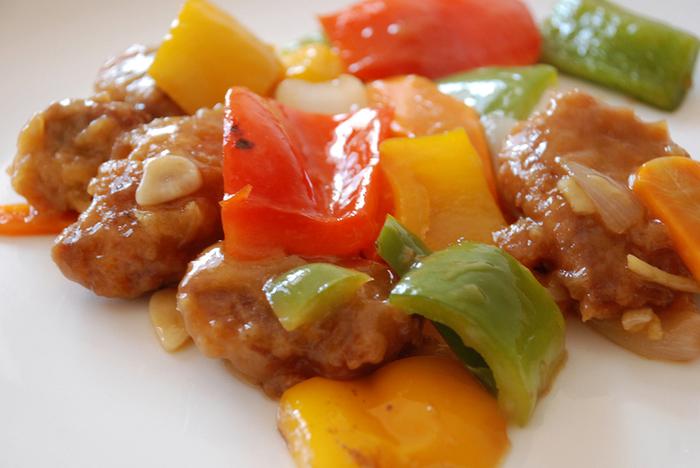 рецепт свинины с овощами в кисло-сладком соусе по-китайски