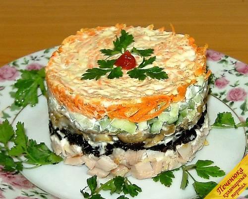 Салаты и закуски с печенью записи в