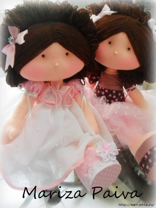 Красивая прическа с кудряшками для куклы. Мастер-класс (5) (525x700, 216Kb)