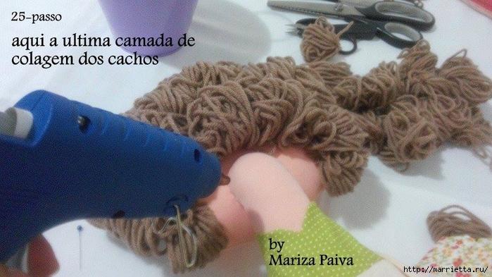 Красивая прическа с кудряшками для куклы. Мастер-класс (6) (700x393, 242Kb)