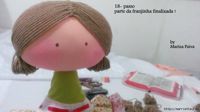 Красивая прическа с кудряшками для куклы. Мастер-класс (15) (700x393, 217Kb)