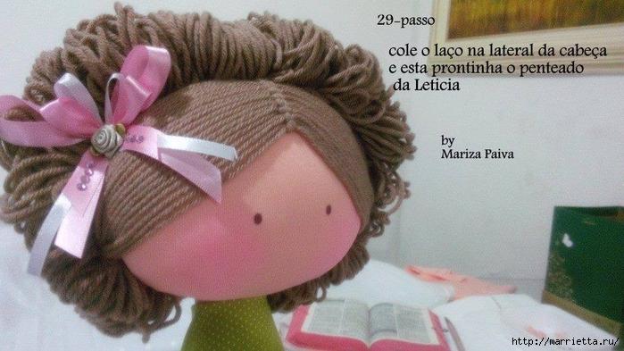 Красивая прическа с кудряшками для куклы. Мастер-класс (19) (700x393, 234Kb)