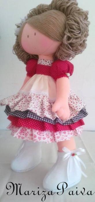 Красивая прическа с кудряшками для куклы. Мастер-класс (23) (329x700, 178Kb)