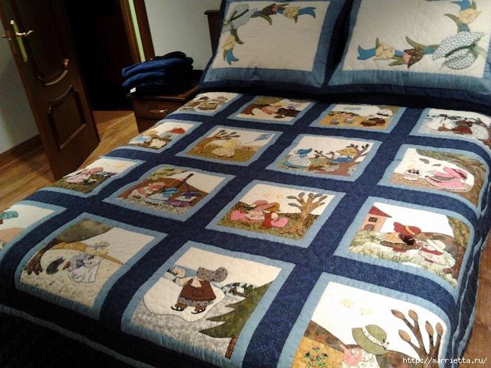 Детское лоскутное одеяло с крошкой СЬЮ (3) (700x525, 306Kb)