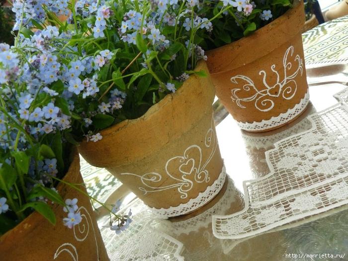 Варианты декорирования цветочных горшков (24) (700x525, 354Kb)