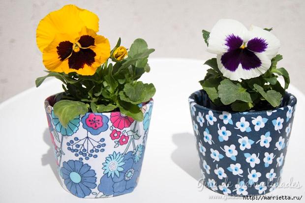 Варианты декорирования цветочных горшков (51) (620x413, 170Kb)