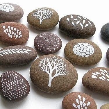 рисунки на камнях картинки
