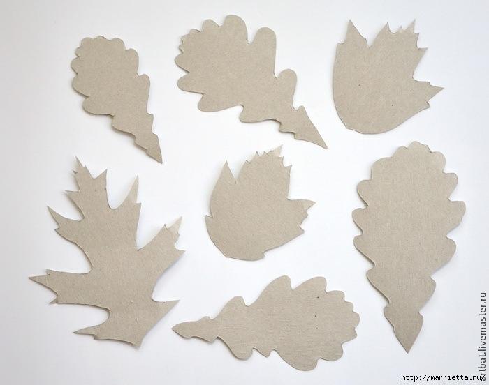 Осенний венок из фетровых листьев. Мастер-класс (1) (700x552, 163Kb)