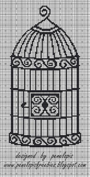 Винтажная вышивка. Схемы и идеи для вдохновения (50) (356x700, 246Kb)