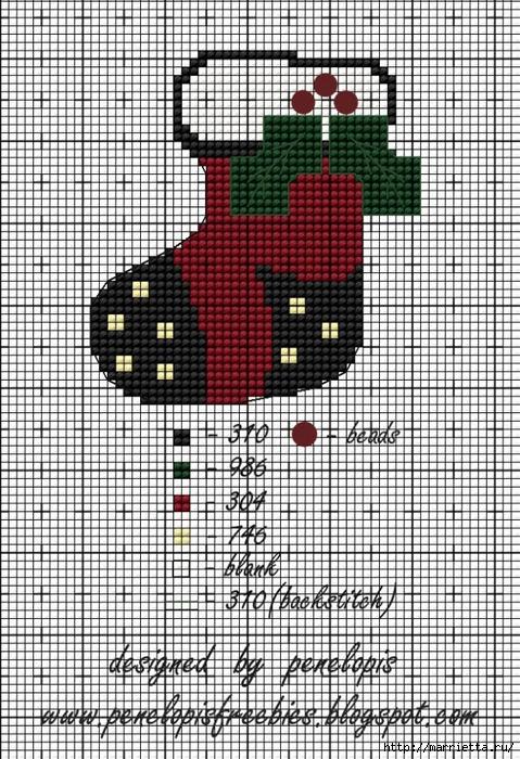 Винтажная вышивка. Схемы и идеи для вдохновения (52) (479x700, 376Kb)