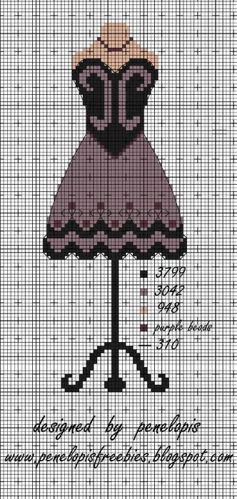 Винтажная вышивка. Схемы и идеи для вдохновения (62) (332x700, 228Kb)
