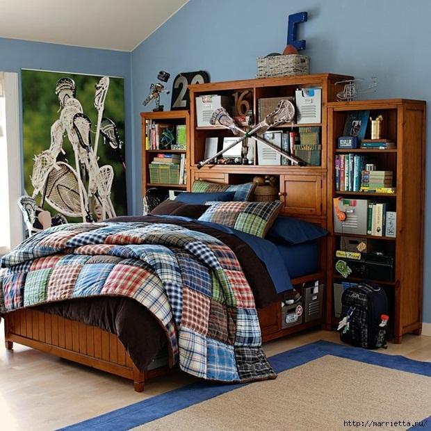 Спальня для подростка мальчика фото