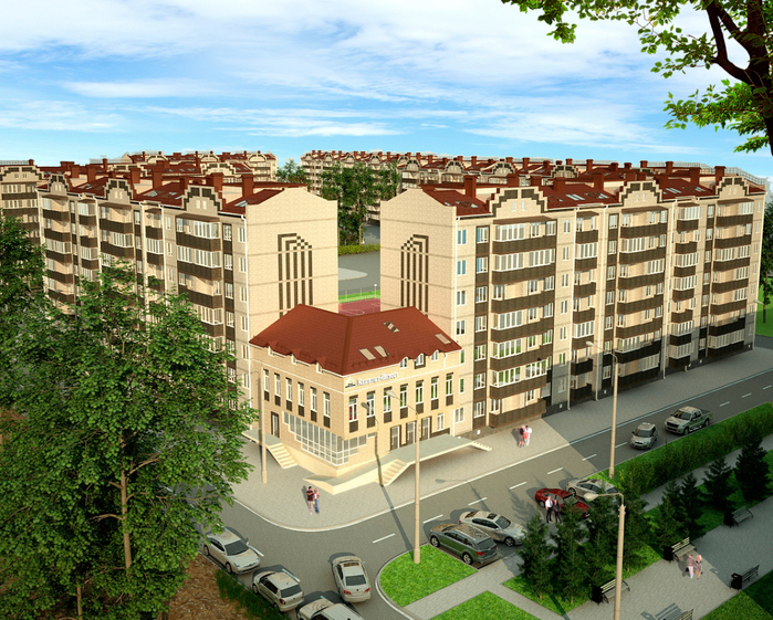 Новые квартиры в Краснодаре от застройщика Капитал-Инвест (1) (700x561, 623Kb)