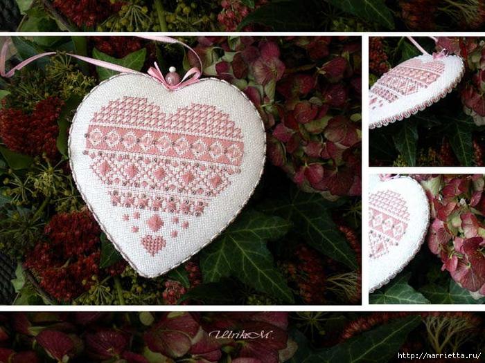Схемы вышивки крестом для валентинок (7) (700x525, 351Kb)