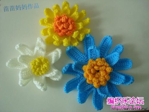 Вязание крючком. Сумочки с цветами. Идеи (10) (500x375, 103Kb)