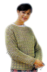 Простой Пуловер