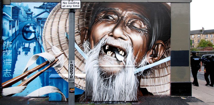 Граффити повсюду. Самовыражение или творчество?