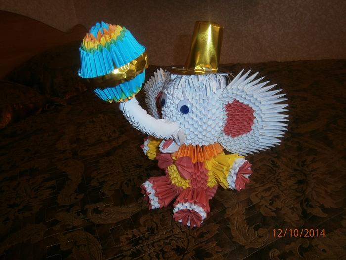 Цирковой слоник.